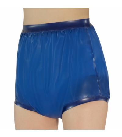 Rubber Incontinence Pants - Blue