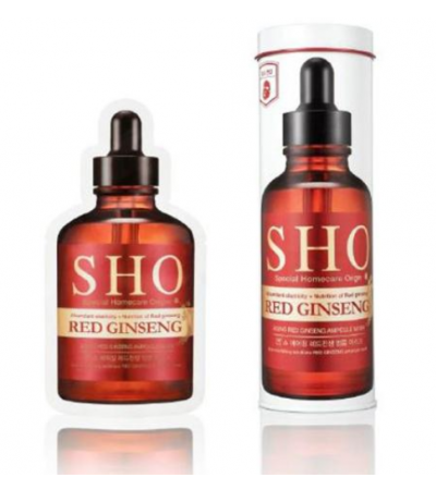 SHO Aging Red Ginseng Ampoule Mask 6's