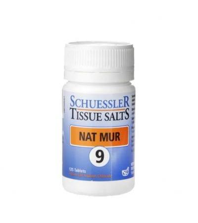 Schuessler Tissue Salts Nat Mur 9 125 Tablets