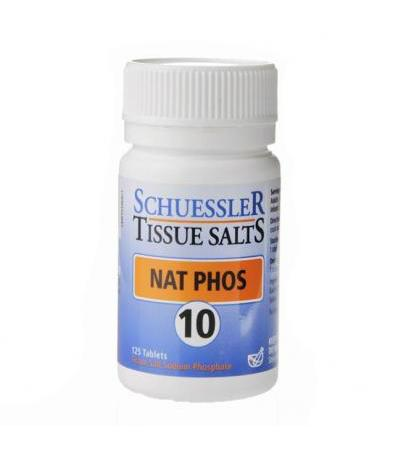 Schuessler Tissue Salts Nat Phos 10 125 Tablets