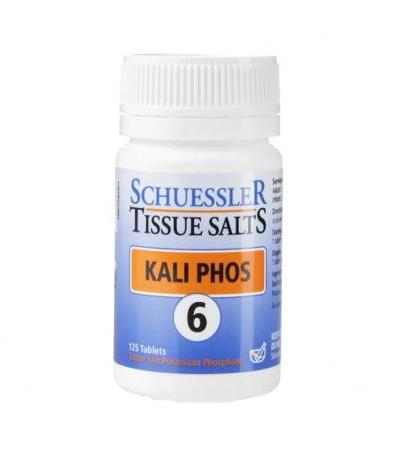 Schuessler Tissue Salts Kali Phos 6 125 Tablets