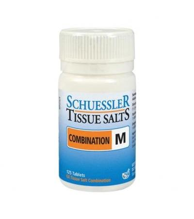 Schuessler Combination M Tissue Salts