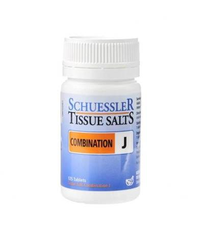 Schuessler Combination J Tissue Salts 125 Tablets
