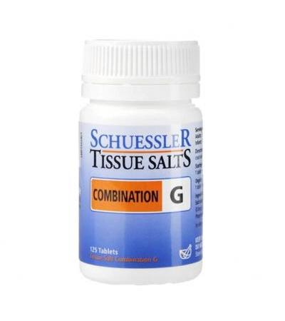 Schuessler Combination G Tissue Salts