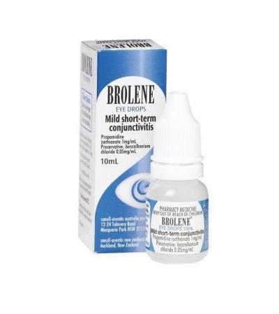 Глазные капли Brolene Mild short-term conjunctivitis 10 ml