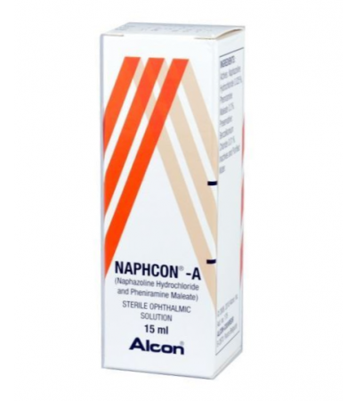 NAPHCON - A EYE DROPS ALLERGY EYE RELIEF
