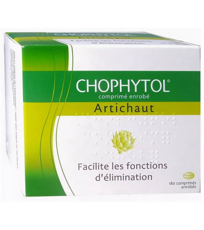 1 Box Chophytol Artichaut Coated Tablets To promote Liver And Kidney Function