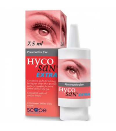 Hycosan Extra Eye Drops 7.5ml