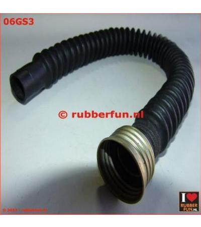 GAS MASK HOSE - 1X FEMALE CONNECTOR