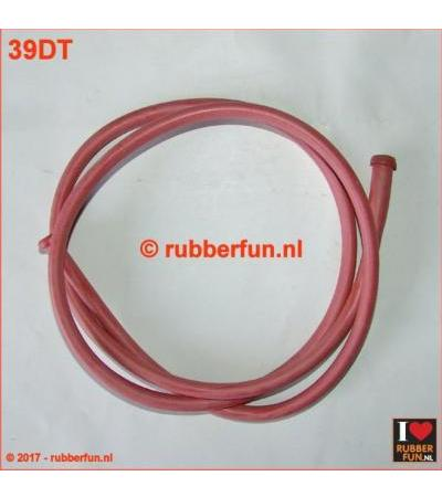 RUBBER TUBE - DOUCHE TUBE - 135 CM LONG, IXO 6X8 MM