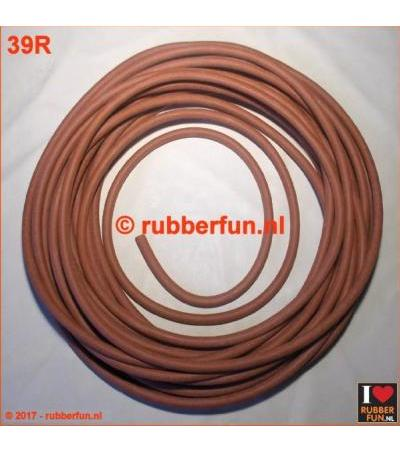 RUBBER TUBING - NATURAL RED RUBBER 4X6 ММ