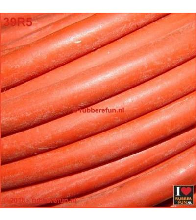 RUBBER TUBING - NATURAL RED RUBBER 6X10 ММ