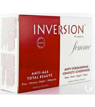 Inpa Inversion Femme 90 CAPS, HAIR SKIN NAILS & ANTI AGEING FOR WOMEN!
