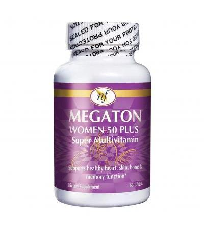 Natural Fervor Megaton Women - Super Multivitamin- 60 tablets