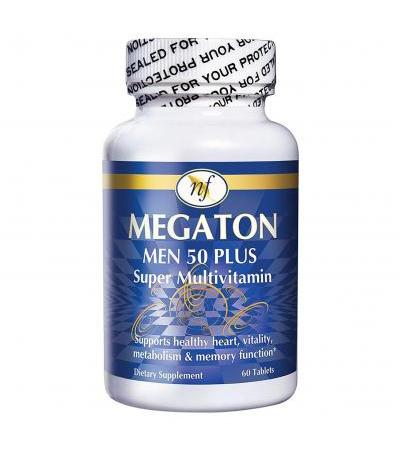 Natural Fervor Megaton Men 50+ Super Multivitamin