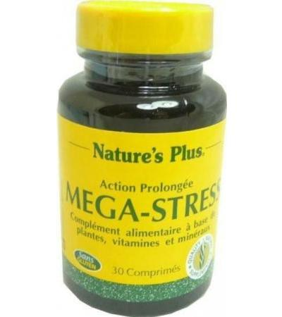 NATURE'S PLUS MEGA-STRESS 30 COMPRIMES