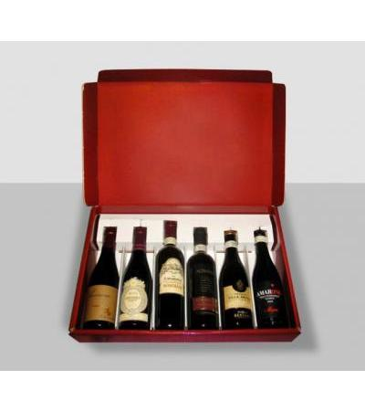 "VINISOAVE.IT TASTING KIT ""AMARONE"" 6 BOTTLES OF CAPACITY 375 ML"